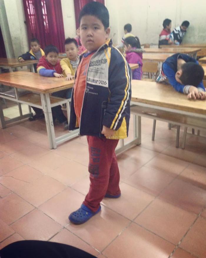 Staring Child Hanoi TEFL Vietnam