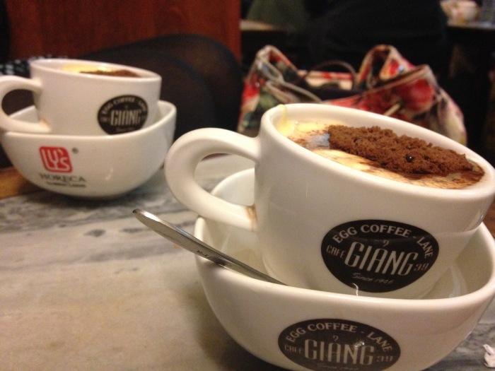 Egg coffee, Giang Cafe