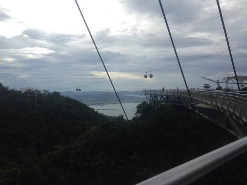 April Abroad Cable Car Langkawi Asia