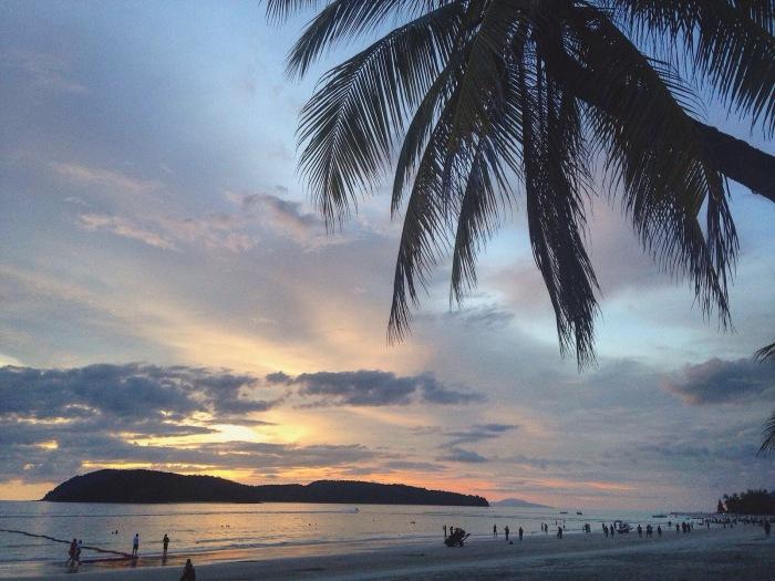 April Abroad Pantai Cenang Langkawi Asia