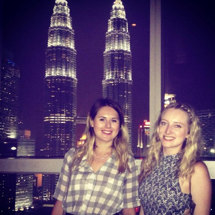 April Abroad Asia Petronas Towers Malaysia