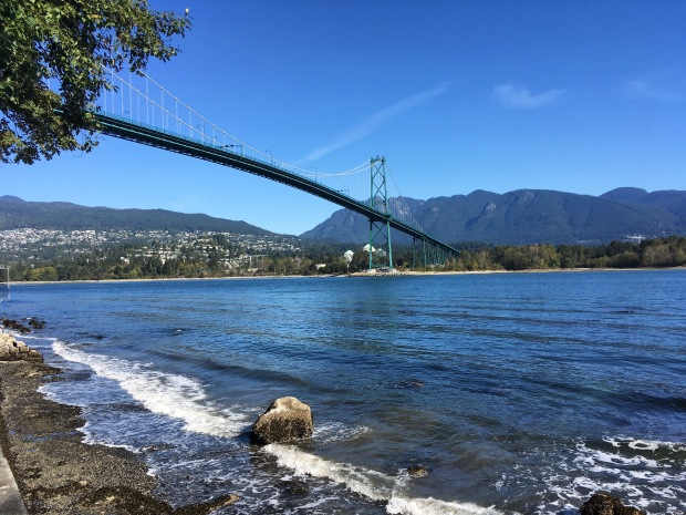 Lions Gate Bridge April Abroad September 2017