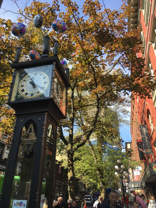 Gastown Steam Powered Clock April Abroad