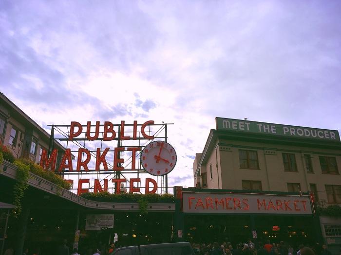 April Abroad Seattle Public Market