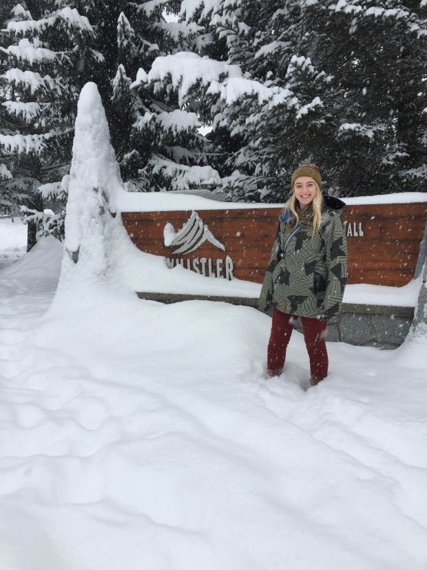 April Abroad Whistler Village British Columbia Winter Christmas